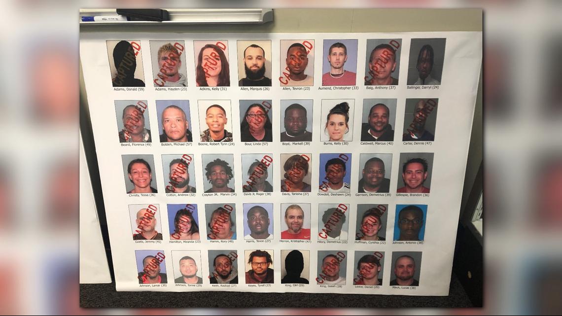 Dozens captured in alleged Mansfield drug trafficking | wkyc com