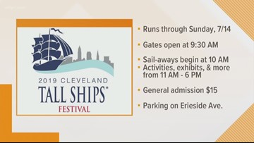 Tall Ships come to Cleveland