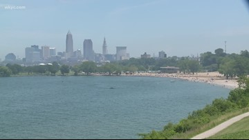 How do you know if it's safe to swim in Lake Erie?