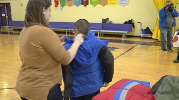 Help keep kids warm this winter by donating to Coats for Kids