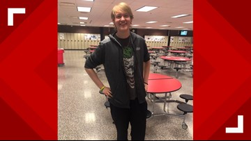 Canton high school senior loses more than 100 pounds by walking to school each day