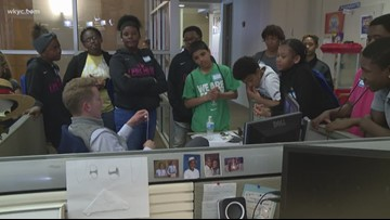 LeBron James Family Foundation visits WKYC