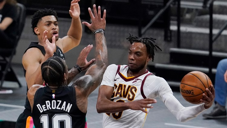 Darius Garland shines as Cleveland Cavaliers beat San Antonio Spurs, end 5-game skid