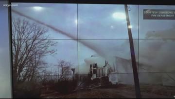 Fire destroys historic Stark County church