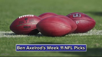 Ben Axelrod's Week 11 NFL Picks: Seahawks beat Packers, Panthers top Lions