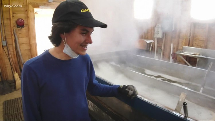 How students are making maple syrup in Northeast Ohio