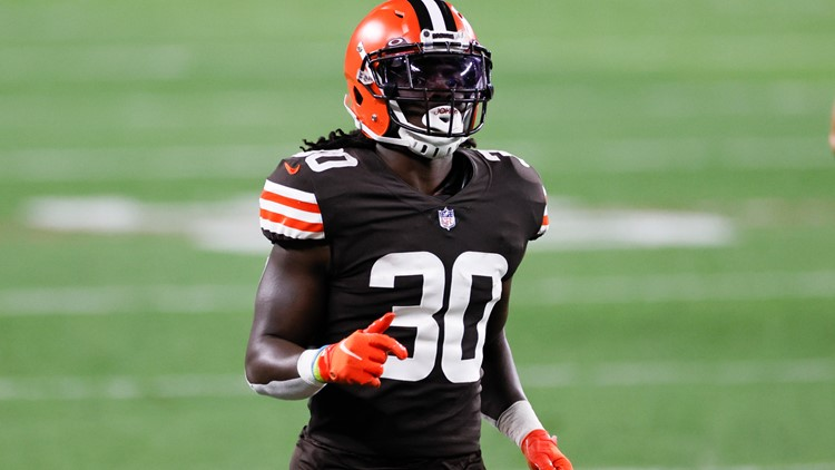 Who is D'Ernest Johnson? Meet the former fisherman turned Cleveland Browns running back