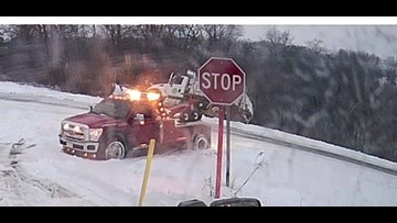 ODOT | 27-year veteran driver crashes plow during storm