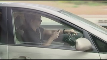 Police to crack down on distracted drivers along I-71