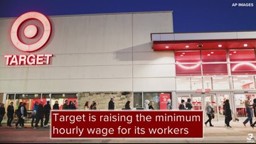 Target raises its minimum wage to $13 from $12