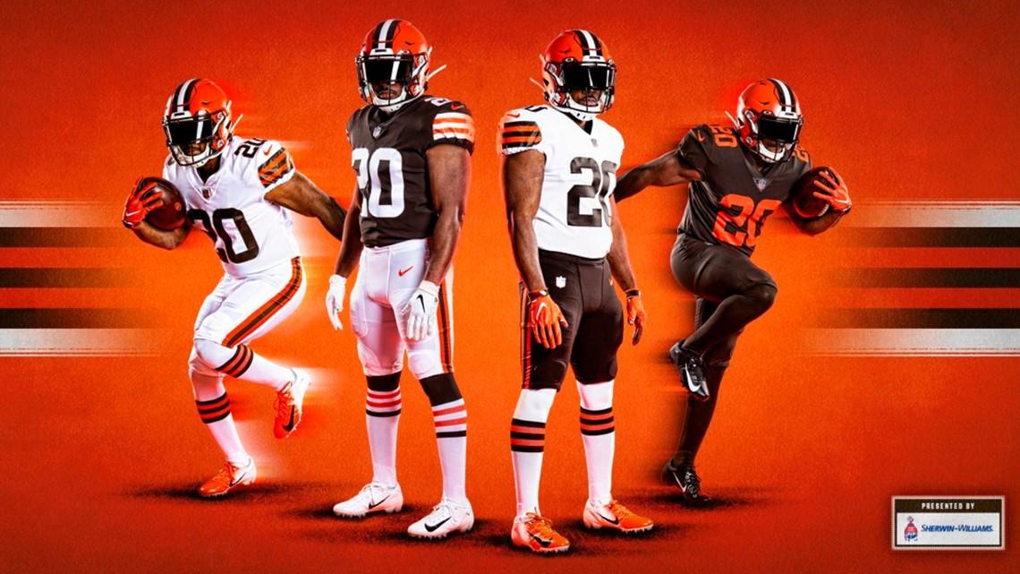 Cleveland Browns unveil new uniforms | wkyc.com