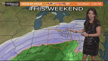 FORECAST | Heavy snow coming this weekend: See the latest track