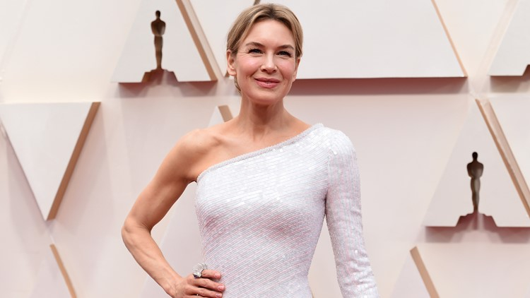 Renee Zellweger 2020 Oscars red carpet