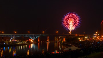 GUIDE | Here's where you can watch Independence Day fireworks this weekend in Northeast Ohio