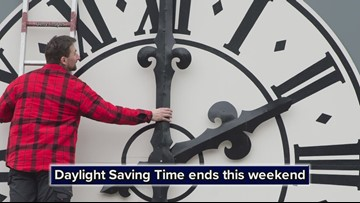 Daylight Saving Time ends this weekend: Don't forget to change your clocks