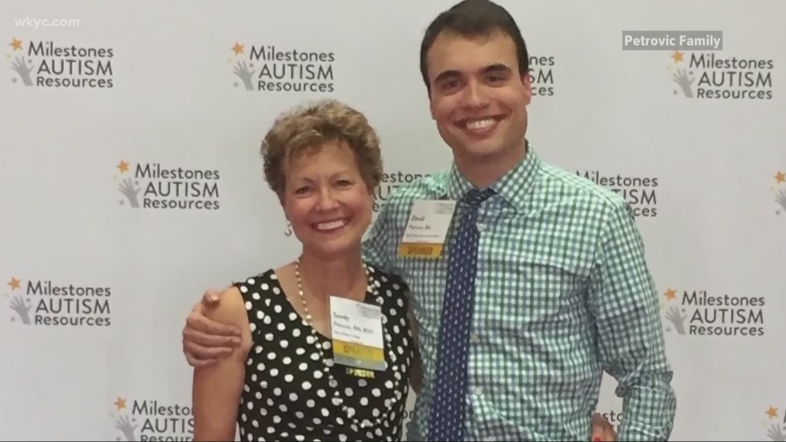 Autism Acceptance Month: Mentor man continues to shatter stereotypes by earning master's degree