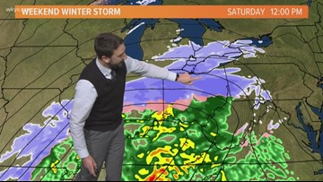 Afternoon weather forecast for Northeast Ohio: January 18, 2019