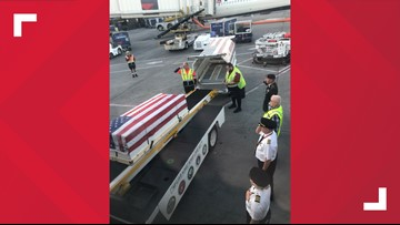 The remains of Korean War POW return home to Stark County nearly 70 years after he died
