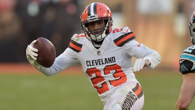 Damarious Randall Carolina Panthers-Cleveland Browns Football