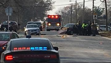 Police chase ends in multiple vehicle crash in Westlake