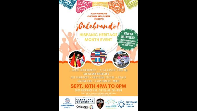Julia De Burgos Cultural Arts Center to present its Hispanic Heritage Month celebration