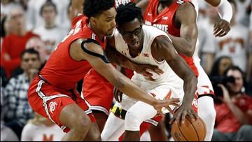 Ohio State falls to No. 24 Maryland 72-62