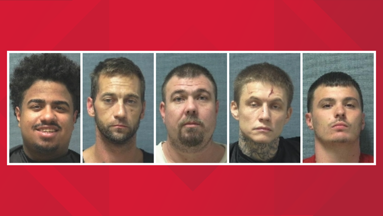 Five at-large after escape from Canton correctional facililty