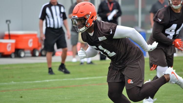 Cleveland Browns linebacker Mack Wilson