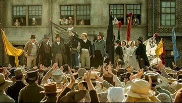 'Minister of Culture' Michael Heaton says 'Peterloo' is a demanding historical drama
