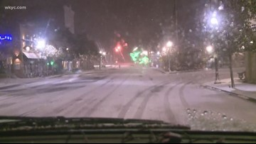 Wintry blast hits Northeast Ohio: 4:30 a.m. weather updates and road conditions