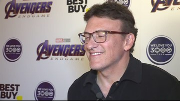 Avengers: Endgame co-director Anthony Russo speaks with WKYC at Best Buy for Blu Ray launch