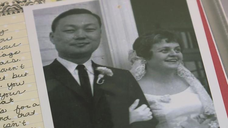 Sue and Sang Rhee wedding