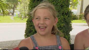 9-year-old Canton girl bitten by shark in Florida