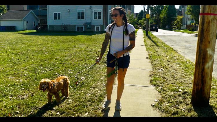 Maureen Murphy owner of CLE DOG WALK
