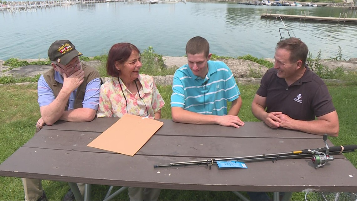 Community rallies around autistic Willoughby man whose fishing gear was stolen