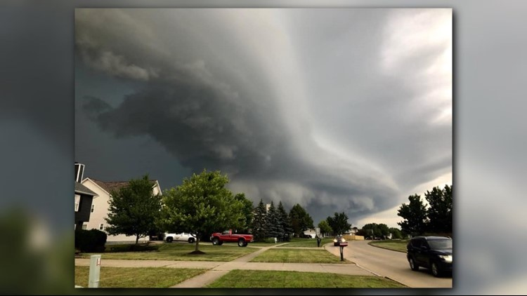 PHOTOS   Storms move across Northeast Ohio Tuesday night