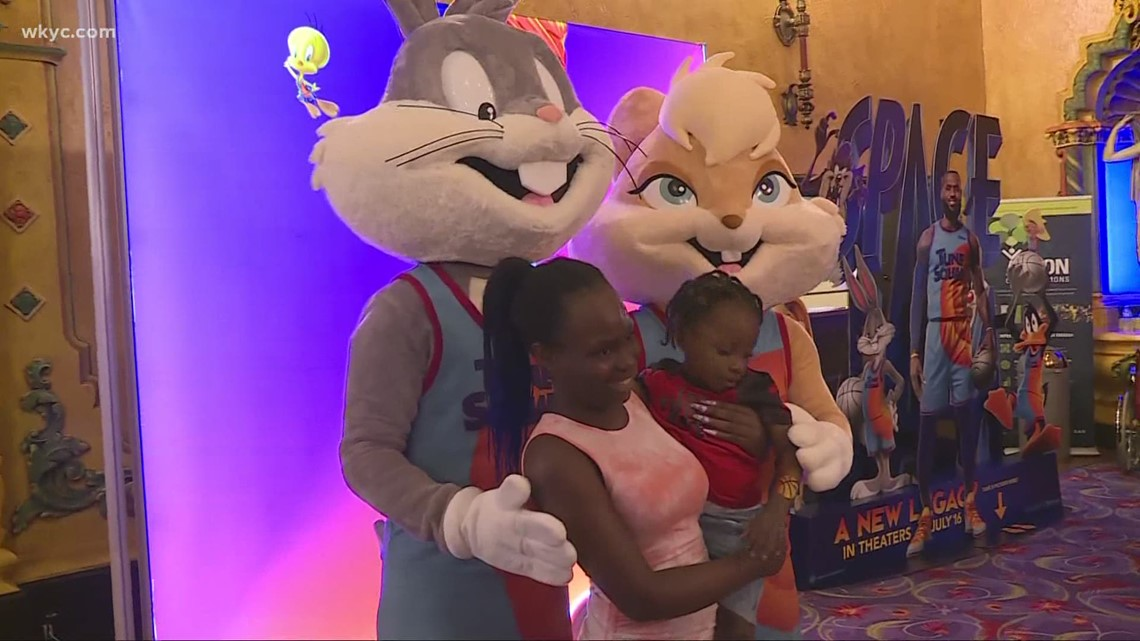 'Space Jam: A New Legacy' starring LeBron James premieres in Akron