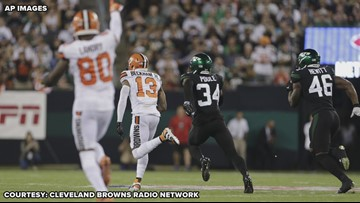 'He's arrived!' | Listen to Jim Donovan Call Odell Beckham Jr.'s 89-yard TD in Browns' win over Jets
