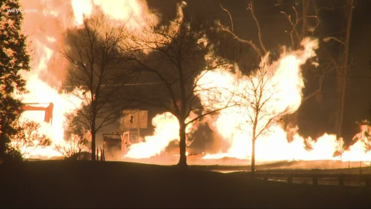 Investigation underway into Pepper Pike gas leak that triggered large fire
