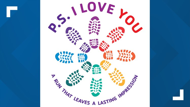 The P.S. I Love You fundraiser race takes place on Saturday in Akron, Ohio.