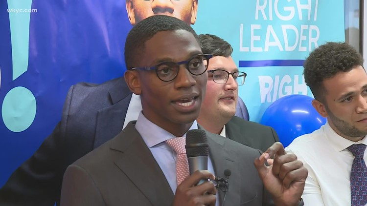 'Our message for change has truly resonated': Justin Bibb talks primary victory, upcoming Cleveland mayoral battle against Kevin Kelley