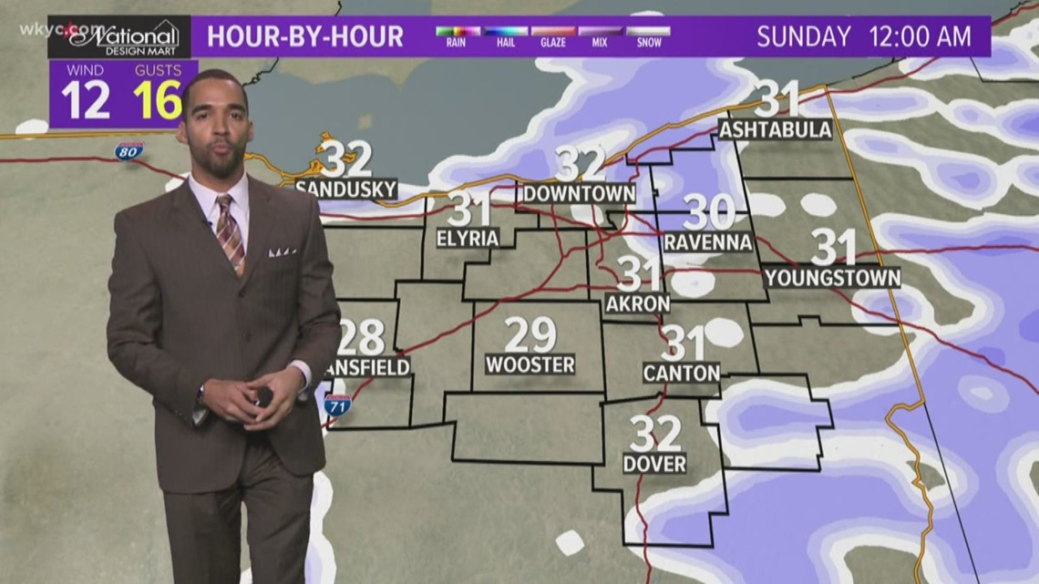 FORECAST | Scatt'd Rain Transitions to Scatt'd Snow Tonight