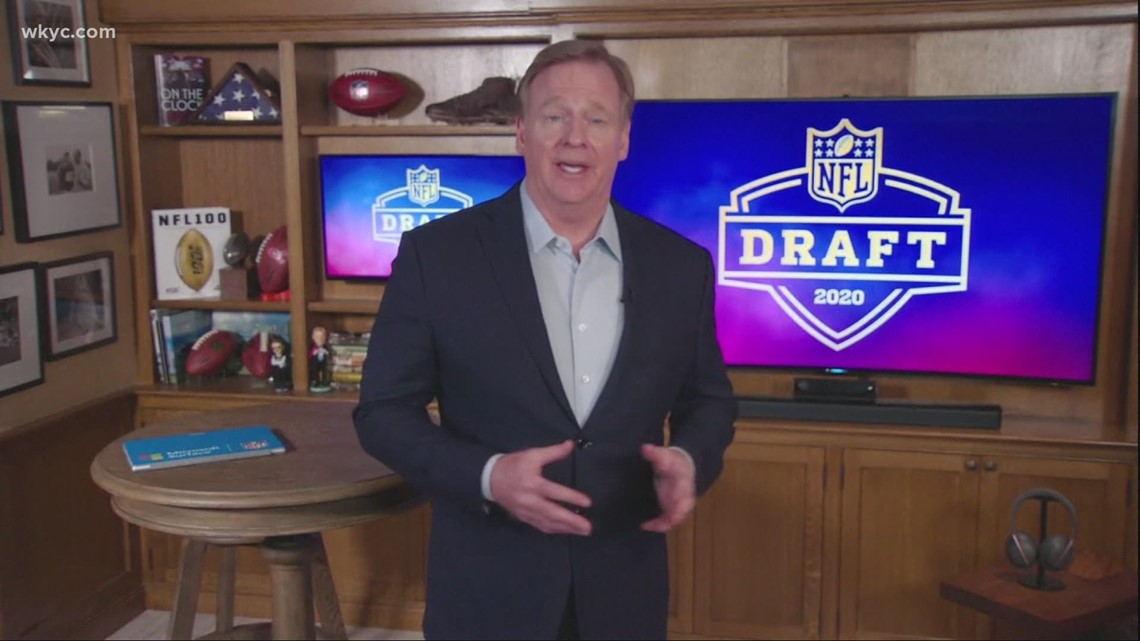 The 2021 NFL Draft's top prospects will be in Cleveland along with NFL Commissioner Roger Goodell