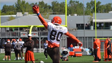 SIGHTS & SOUNDS | 2nd-to-last day of Cleveland Browns training camp