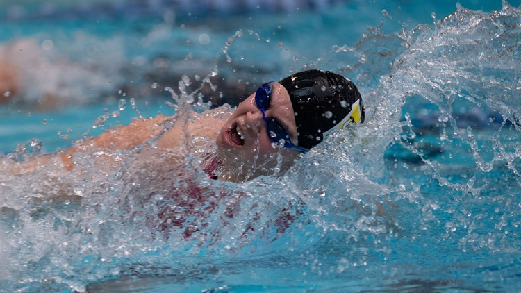 College of Wooster swimmer Molly Likins 2
