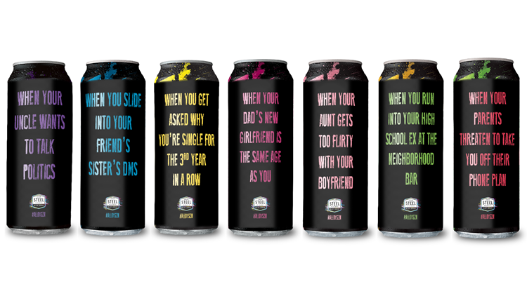Steel Reserve Alloy Series cans full