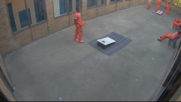 WATCH | Drone drops marijuana, cell phone to inmates at Cuyahoga County Jail's Euclid complex