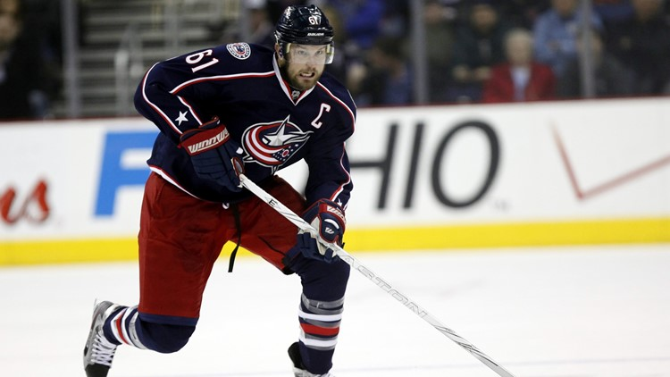 Rick Nash Columbus Blue Jackets Hockey