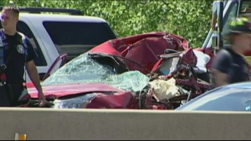 Father shares story after sleepy driver fatally crashes into wife on Ohio Turnpike