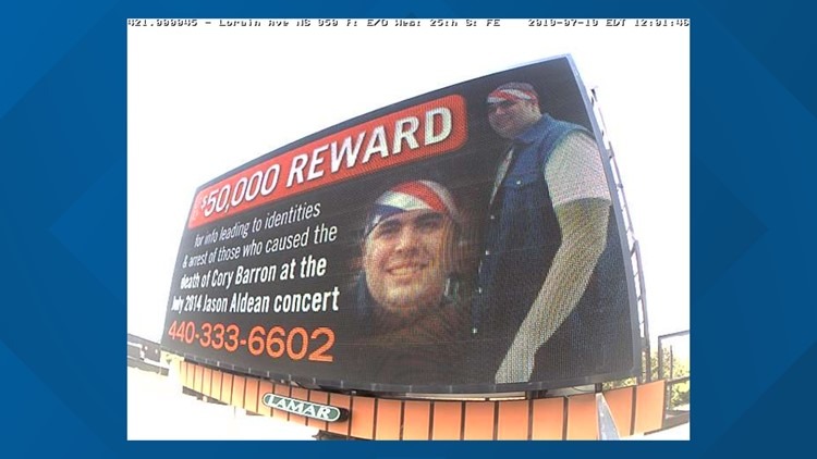 New billboard campaign seeks answers in cold case of man who died at 2014  Cleveland concert